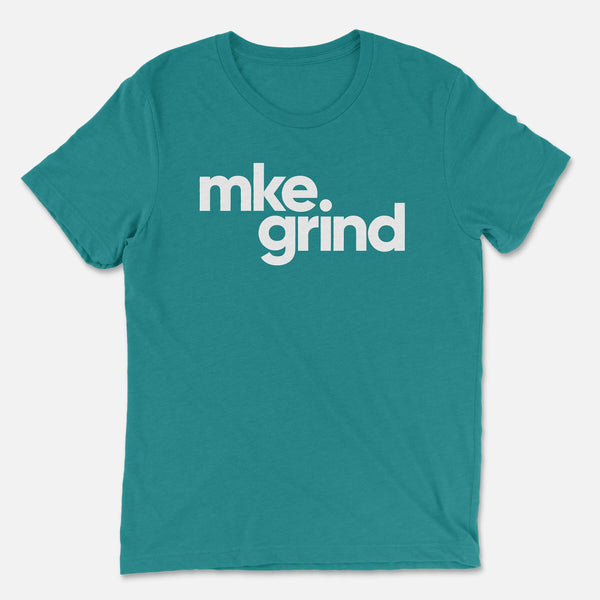 MG Teal Triblend Tee