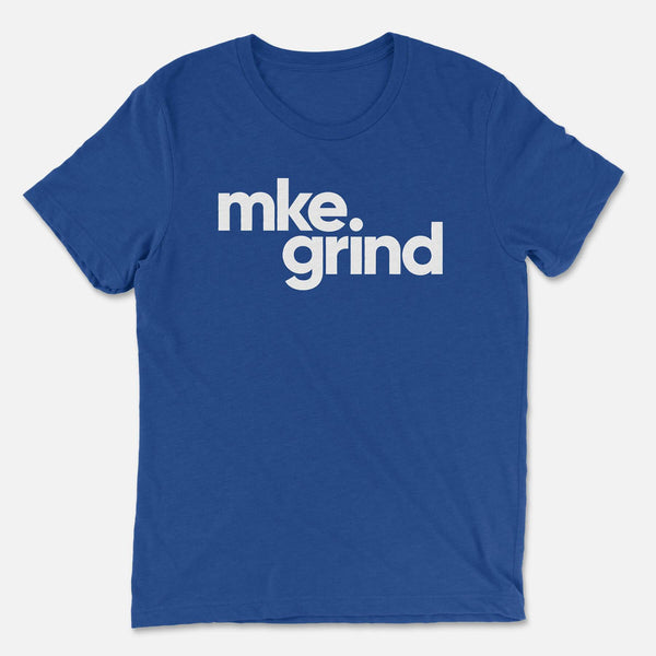 MG True Royal Triblend Tee
