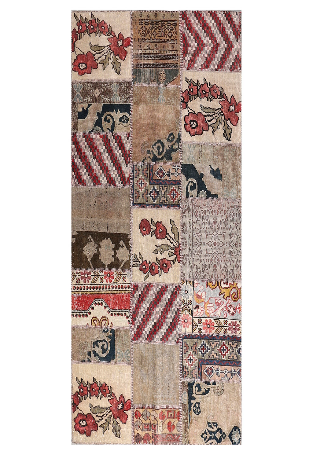 Patchwork Collection Rug Rug 4'3''x8'6''