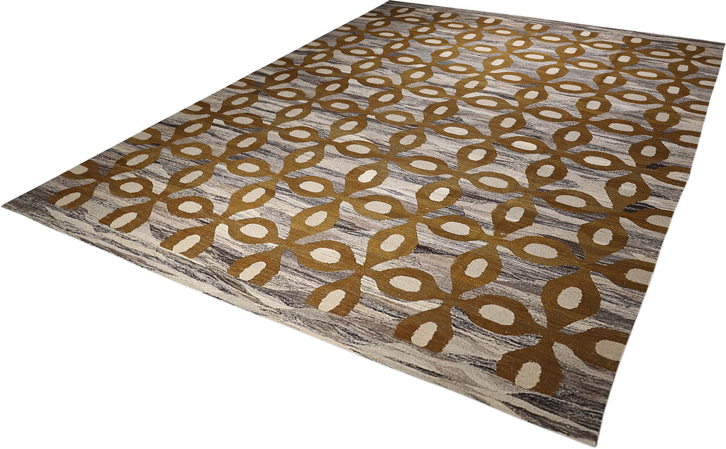 Dhoku Collection Kilim 9'7''x13'1''