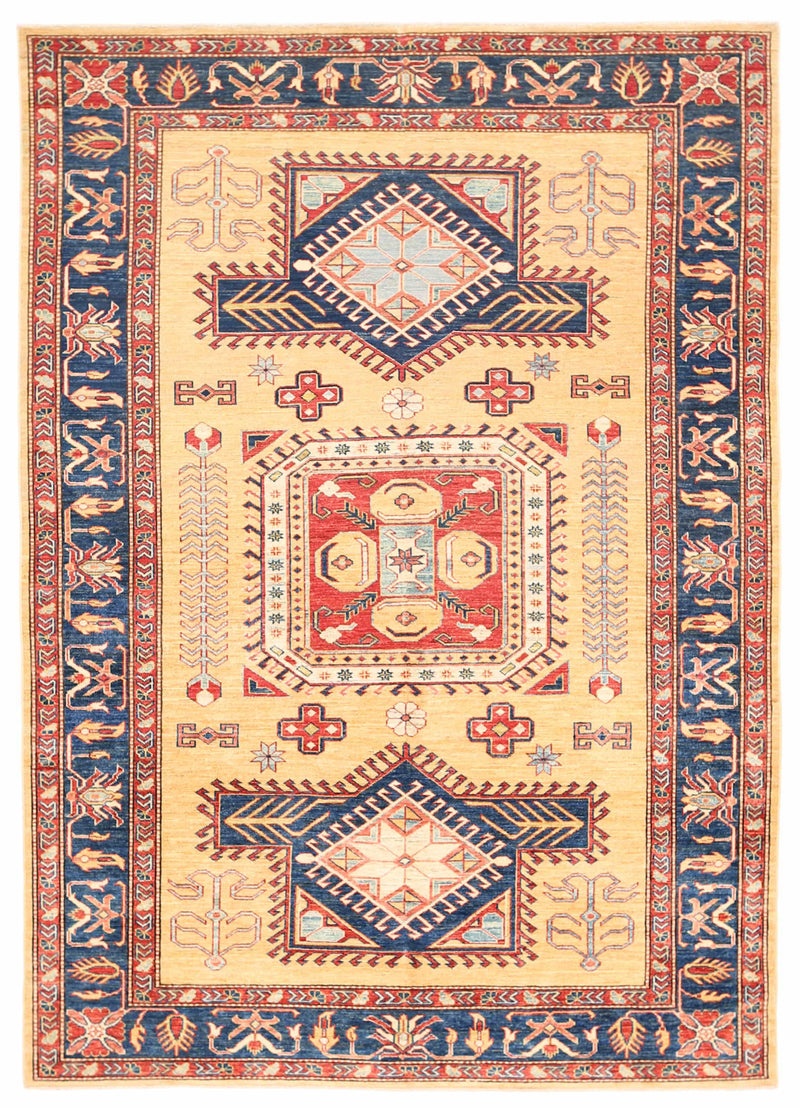 Kazak - Super Wool Rug 5'7''x7'11''