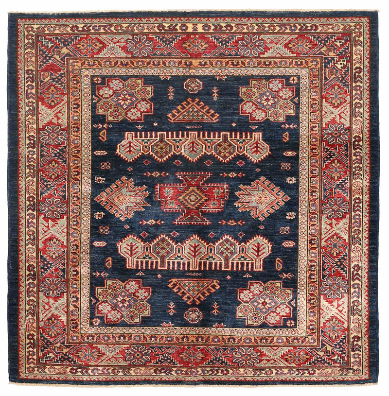 Kazak - Super Wool Rug 5'0''x5'0''