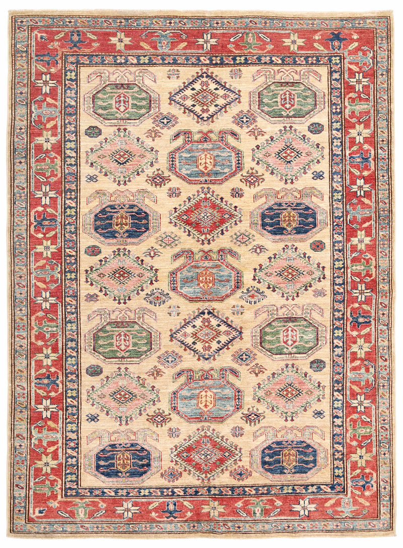 Kazak - Super Wool Rug 5'8''x7'10''