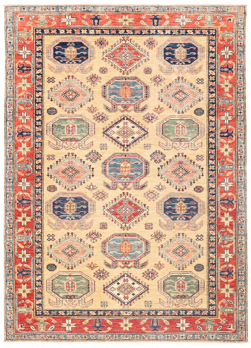 Kazak - Super Wool Rug 5'6''x7'8''
