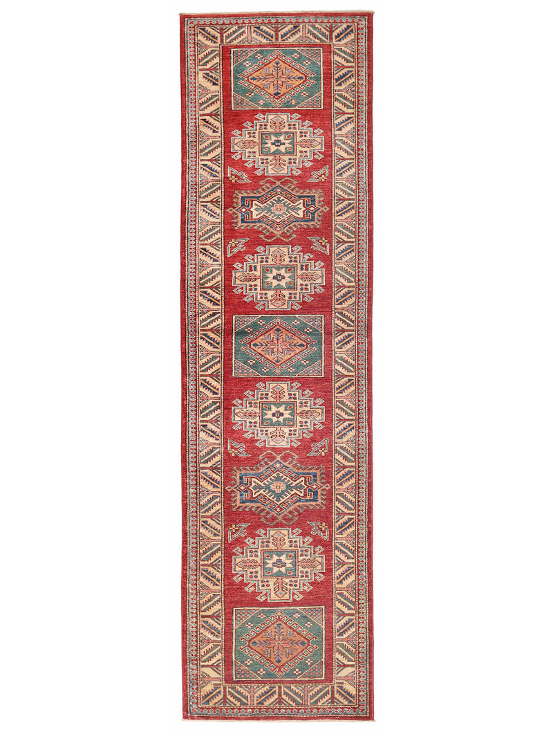 Kazak - Super Wool Rug 2'7''x9'7''