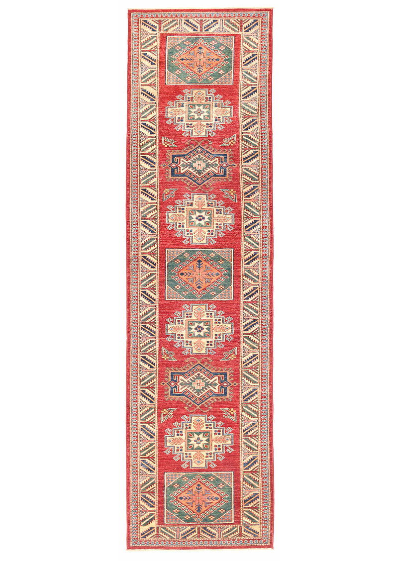 Kazak - Super Wool Rug 2'8''x10'2''
