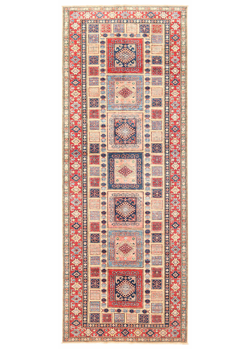 Kazak - Super Wool Rug 4'1''x11'2''