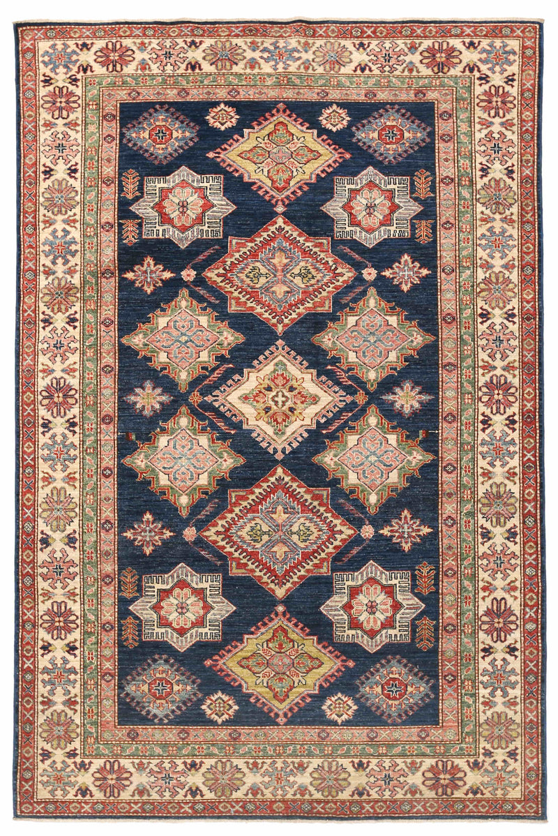 Kazak - Super Wool Rug 5'4''x8'2''