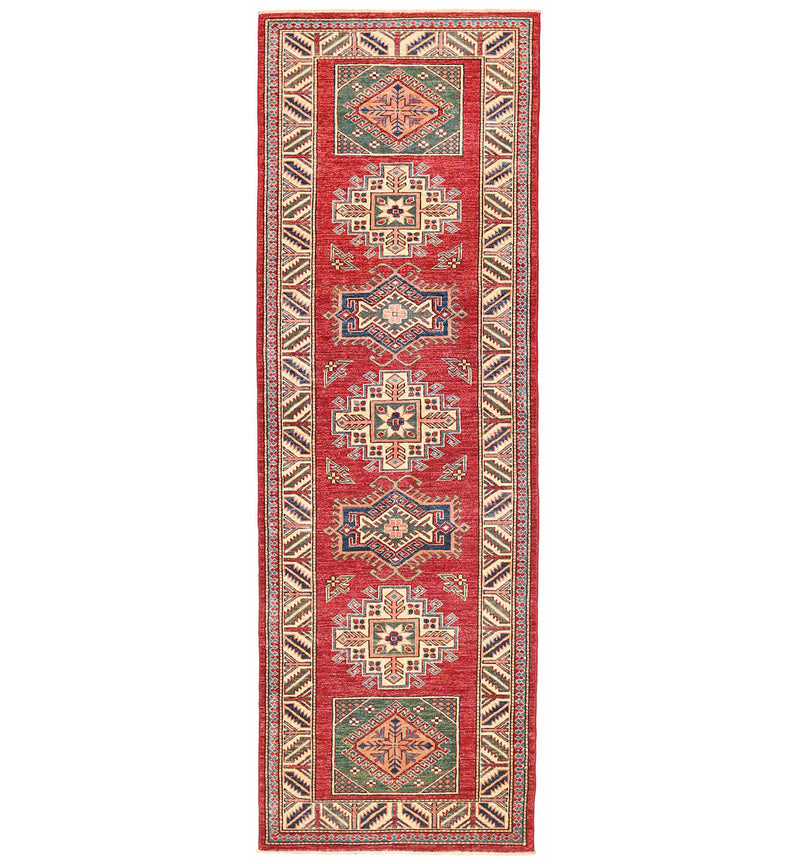 Kazak - Super Wool Rug 2'8''x8'2''