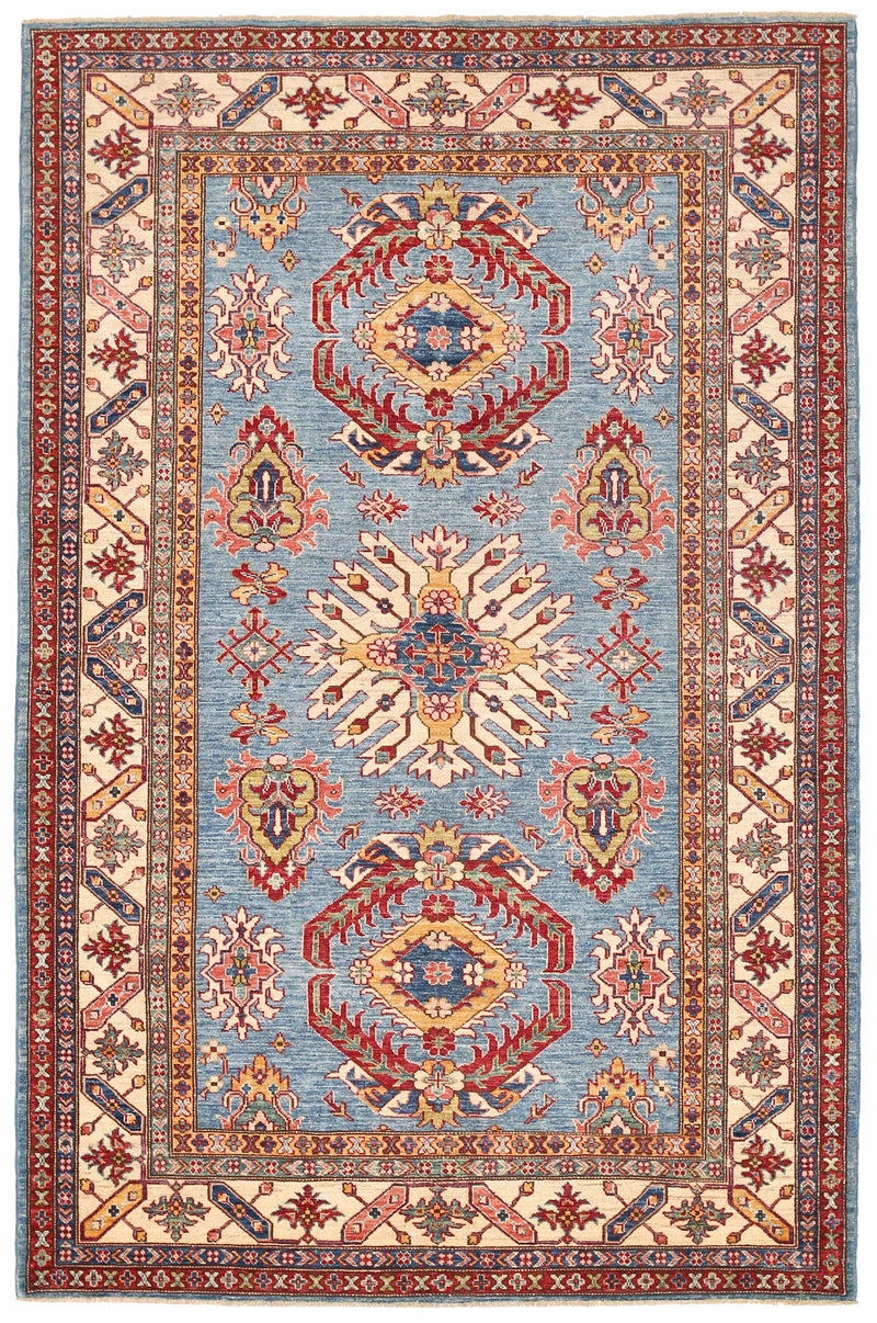 Kazak - Super Wool Rug 5'6''x8'5''