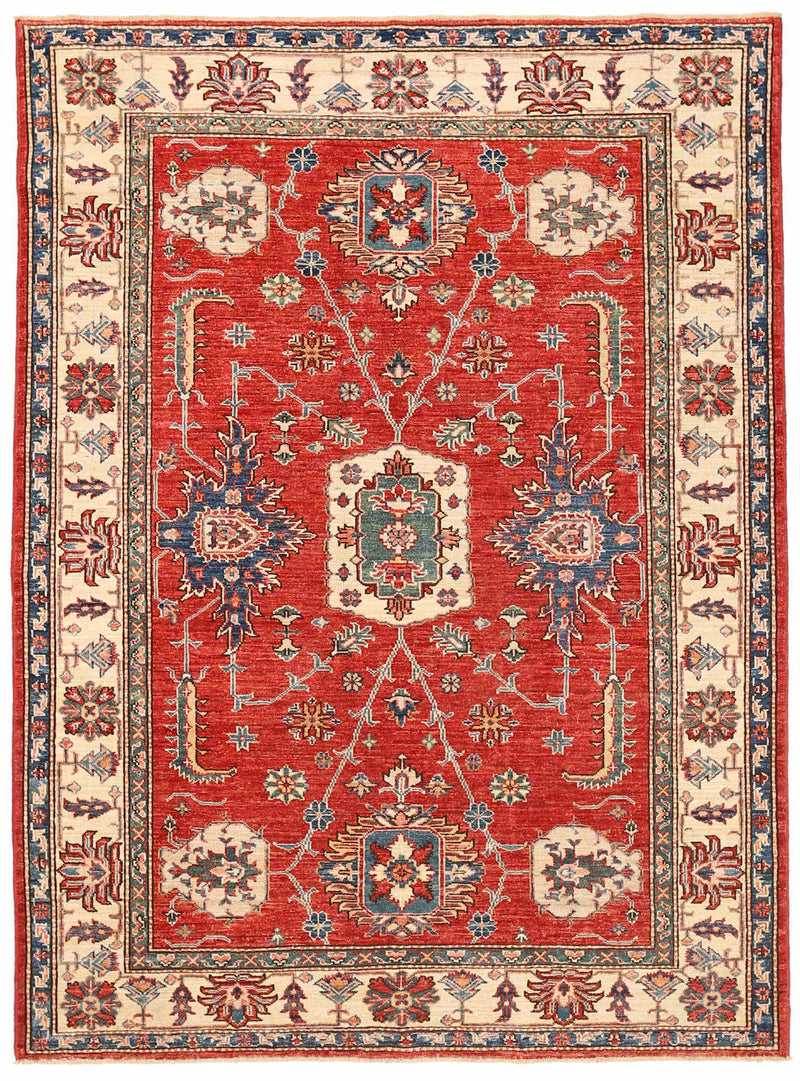 Kazak - Super Wool Rug 4'10''x6'7''