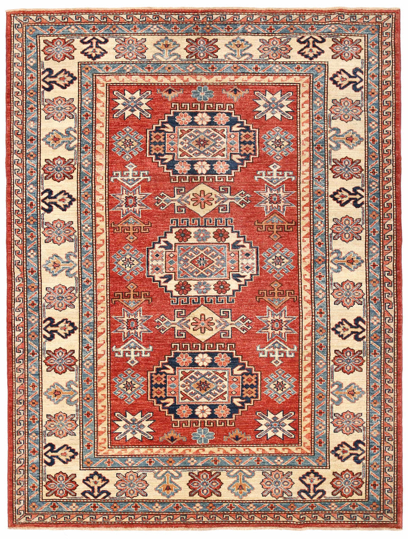 Kazak - Super Wool Rug 4'11''x6'8''