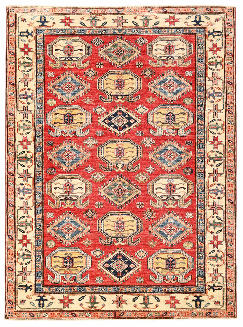 Kazak - Super Wool Rug 5'6''x7'3''