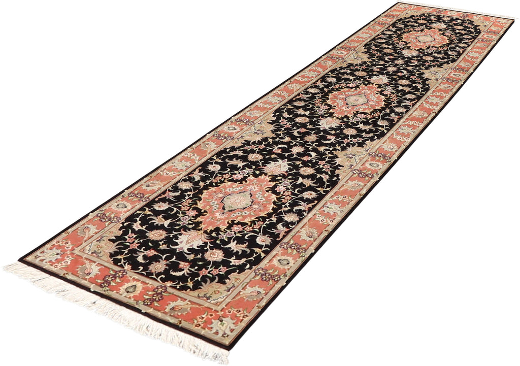 Persian - Luxury Wool  Hand-Knotted 2'10''x11'8''