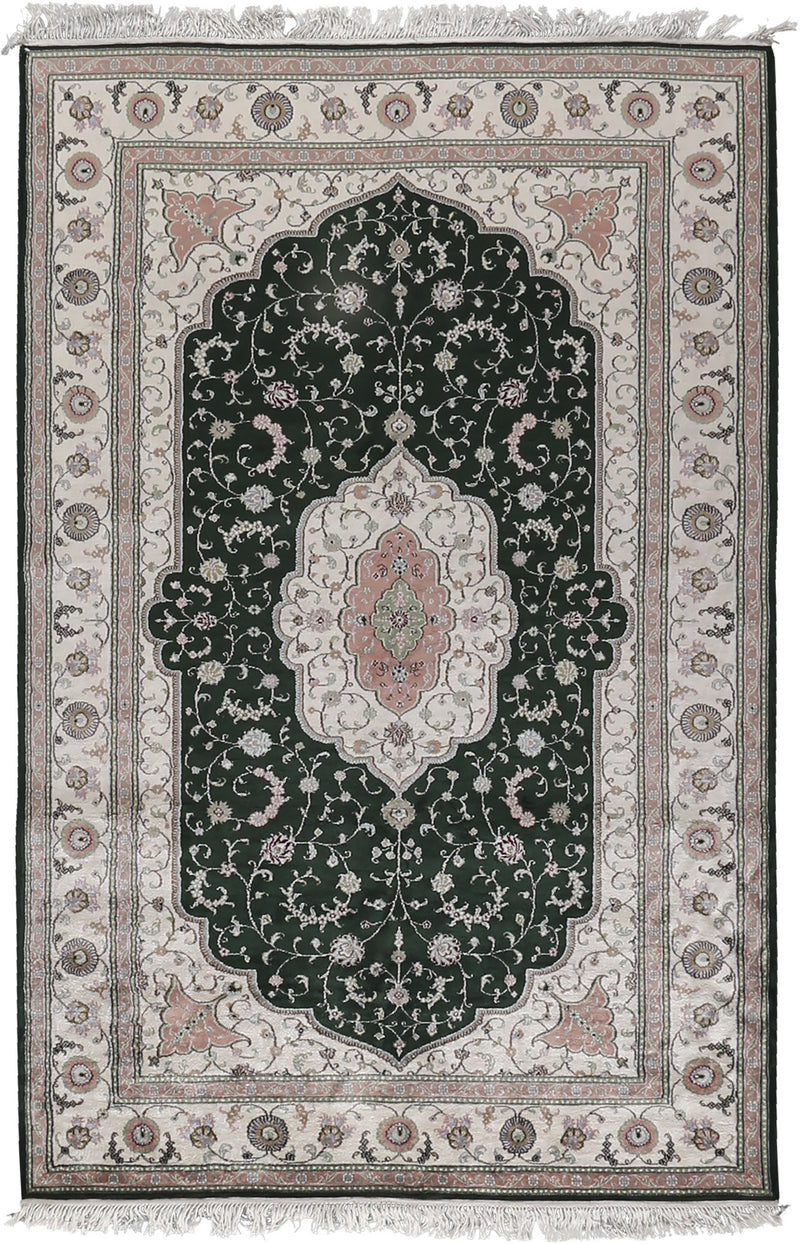 Flosh Art Silk Rug 5'2''x8'2''