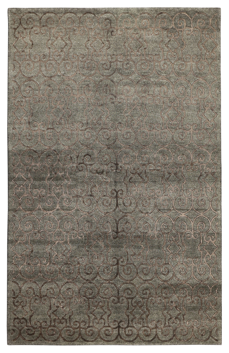 Narmal Wool/Viscose Rug 5'1''x8'2''
