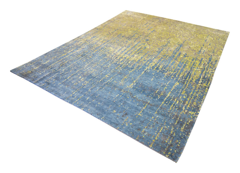 Narmal Wool/Bamboo Silk Rug 7'11''x9'8''