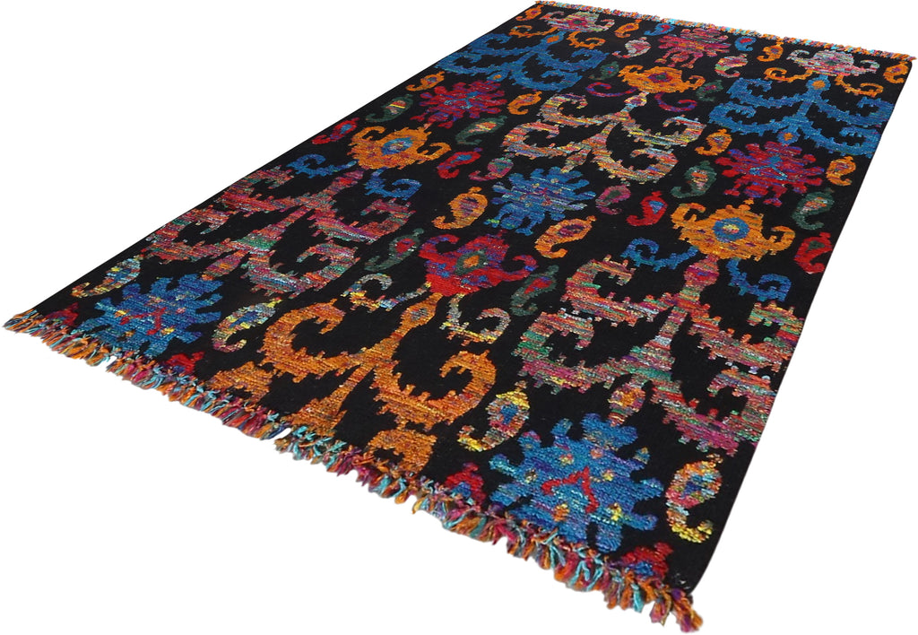 Children Wool Rug 5'0''x8'0''