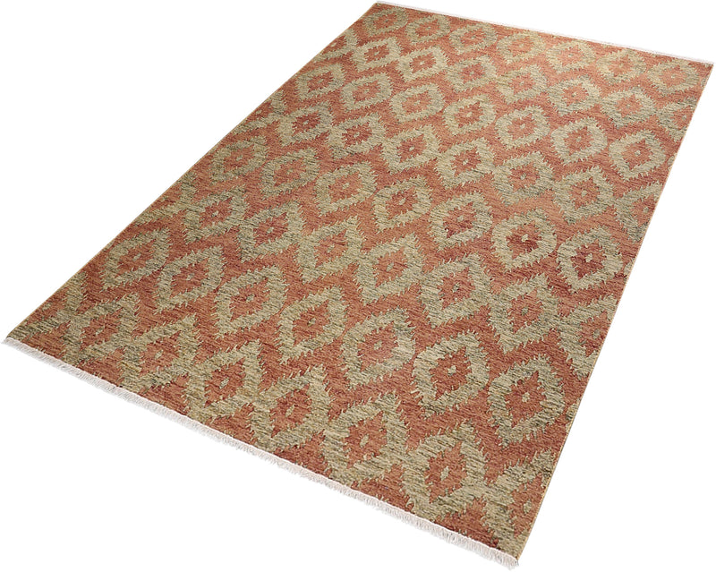 Sumakh Collection Rug in Copper and Sage