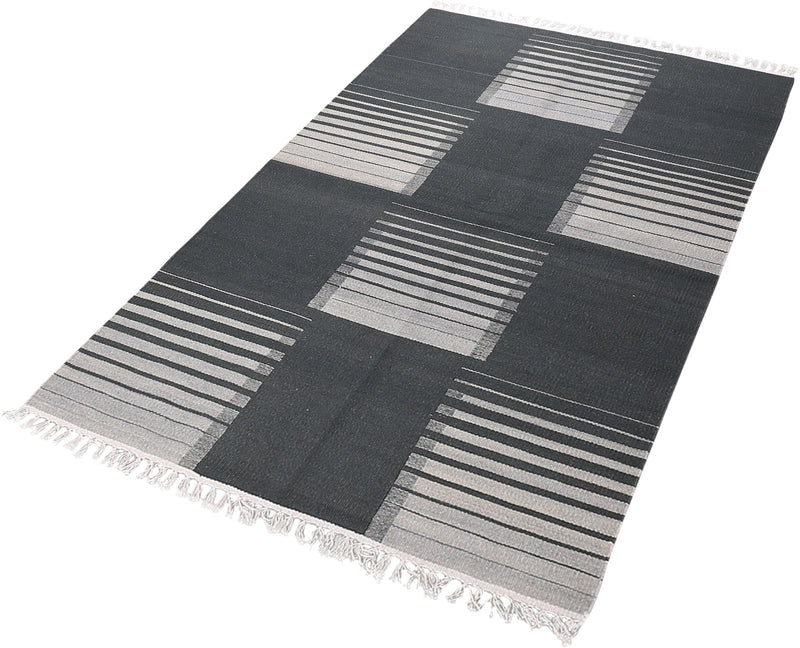 Mod Kilim Collection Kilim in Grey
