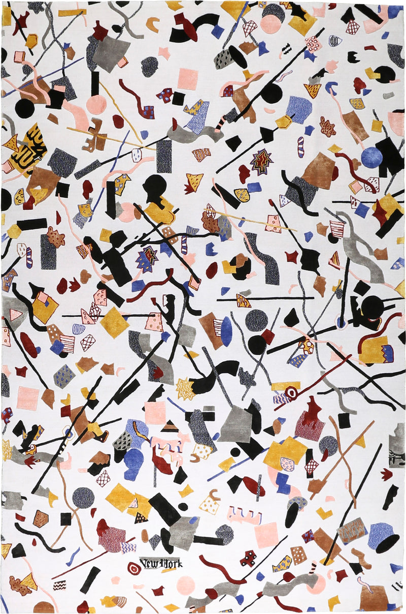 Confetti Wool/Art Silk Rug 8'0''x10'0''