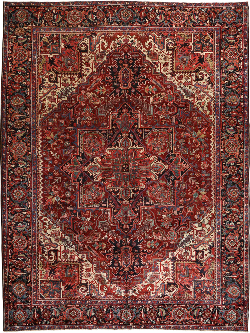 Persian - Luxury Wool Hand Knotted 9'8''x13'1''