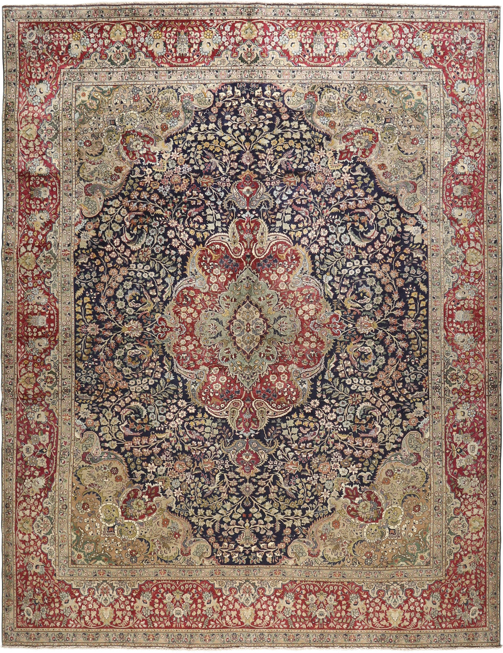 Persian - Luxury Wool Rug 9'8''x12'7''
