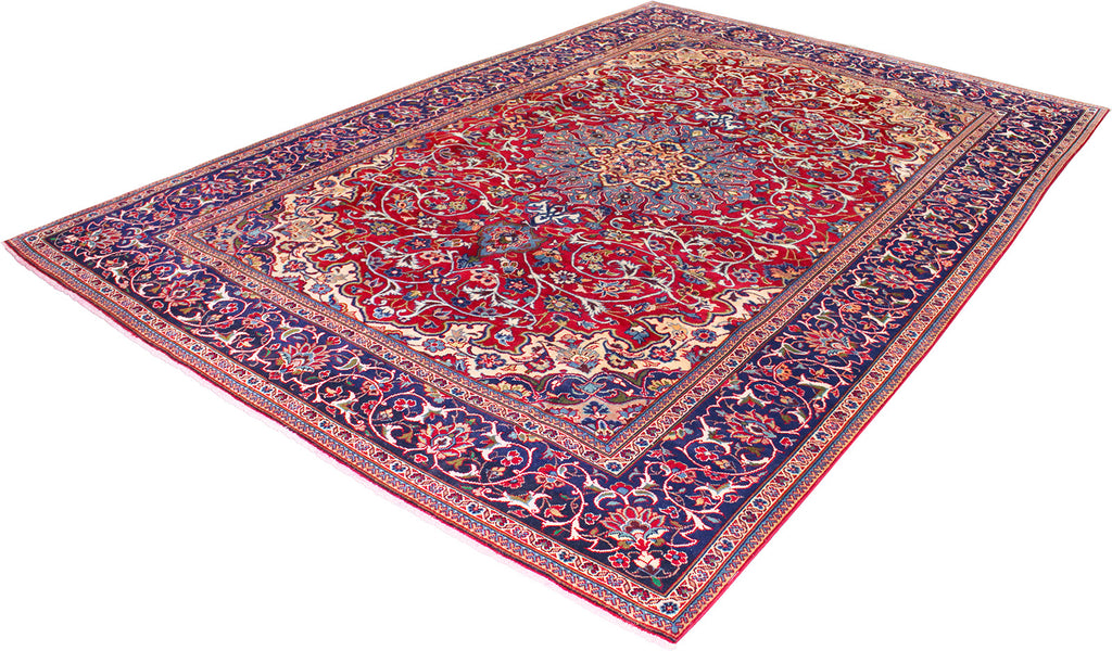 Persian - Reclaimed Wool Rug 7'7''x11'1''