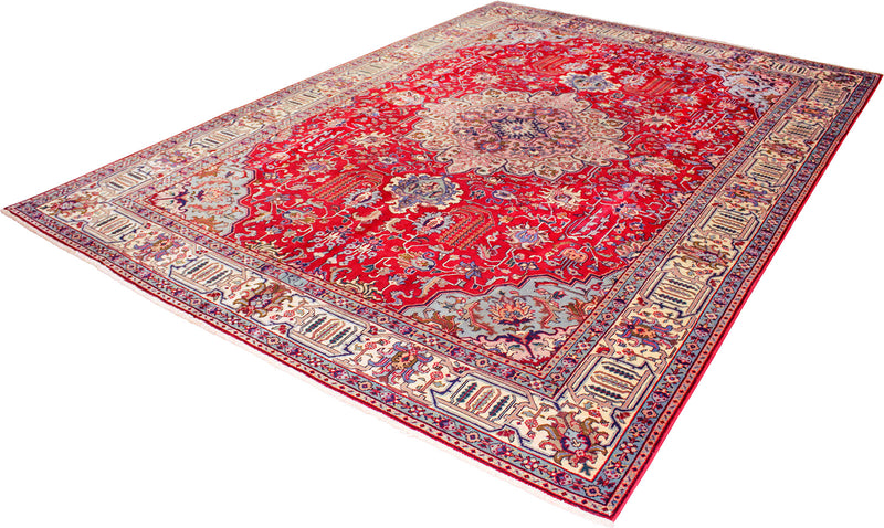 Persian - Reclaimed Wool Rug 7'10''x11'1''