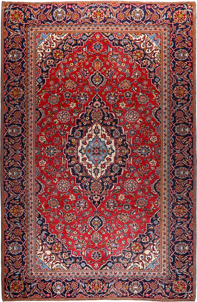 Persian - Reclaimed Wool Rug 7'6''x11'3''
