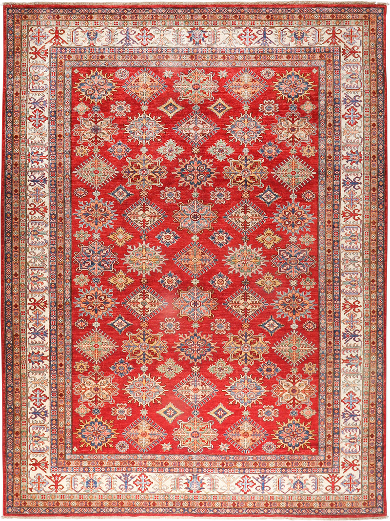 Kazak - Super Wool Rug 8'10''x11'10''