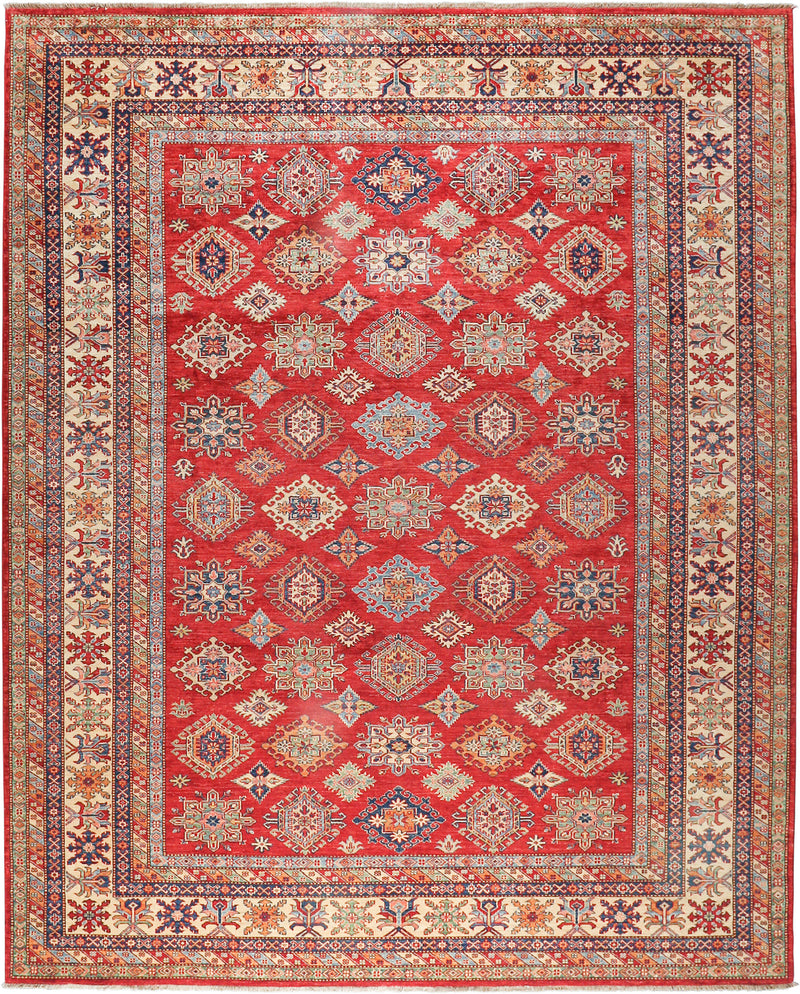 Kazak - Super Wool Rug 9'1''x11'5''