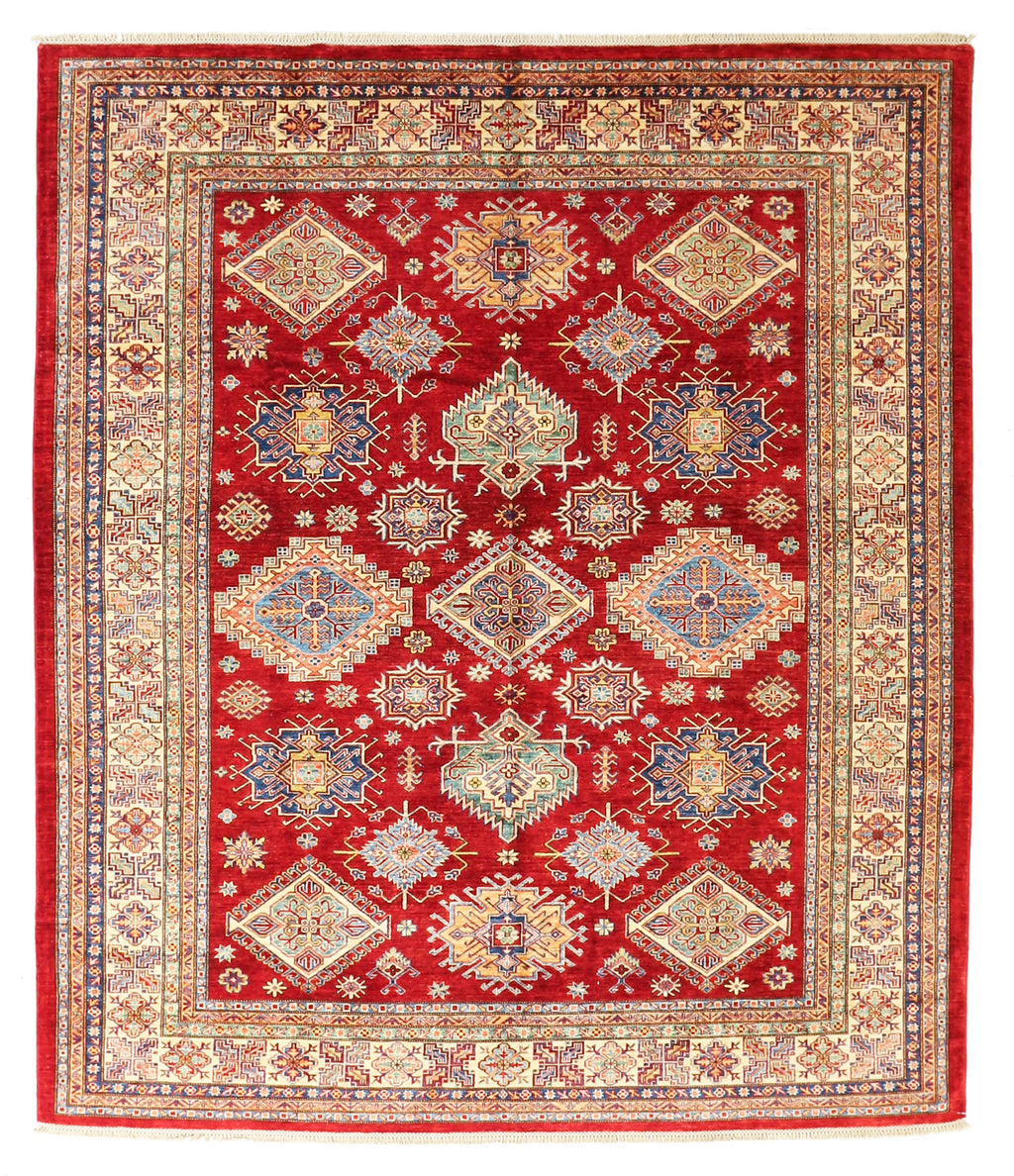 Kazak - Super Wool Rug 8'2''x9'6''