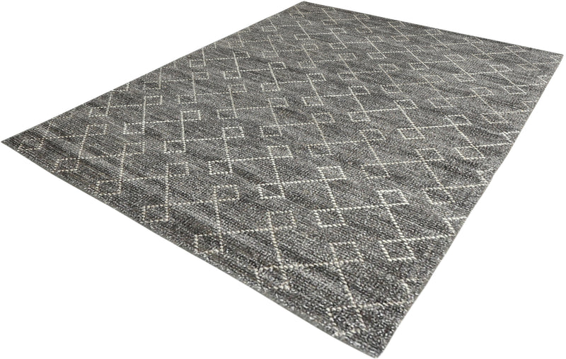 Ohi Collection Rug in Grey