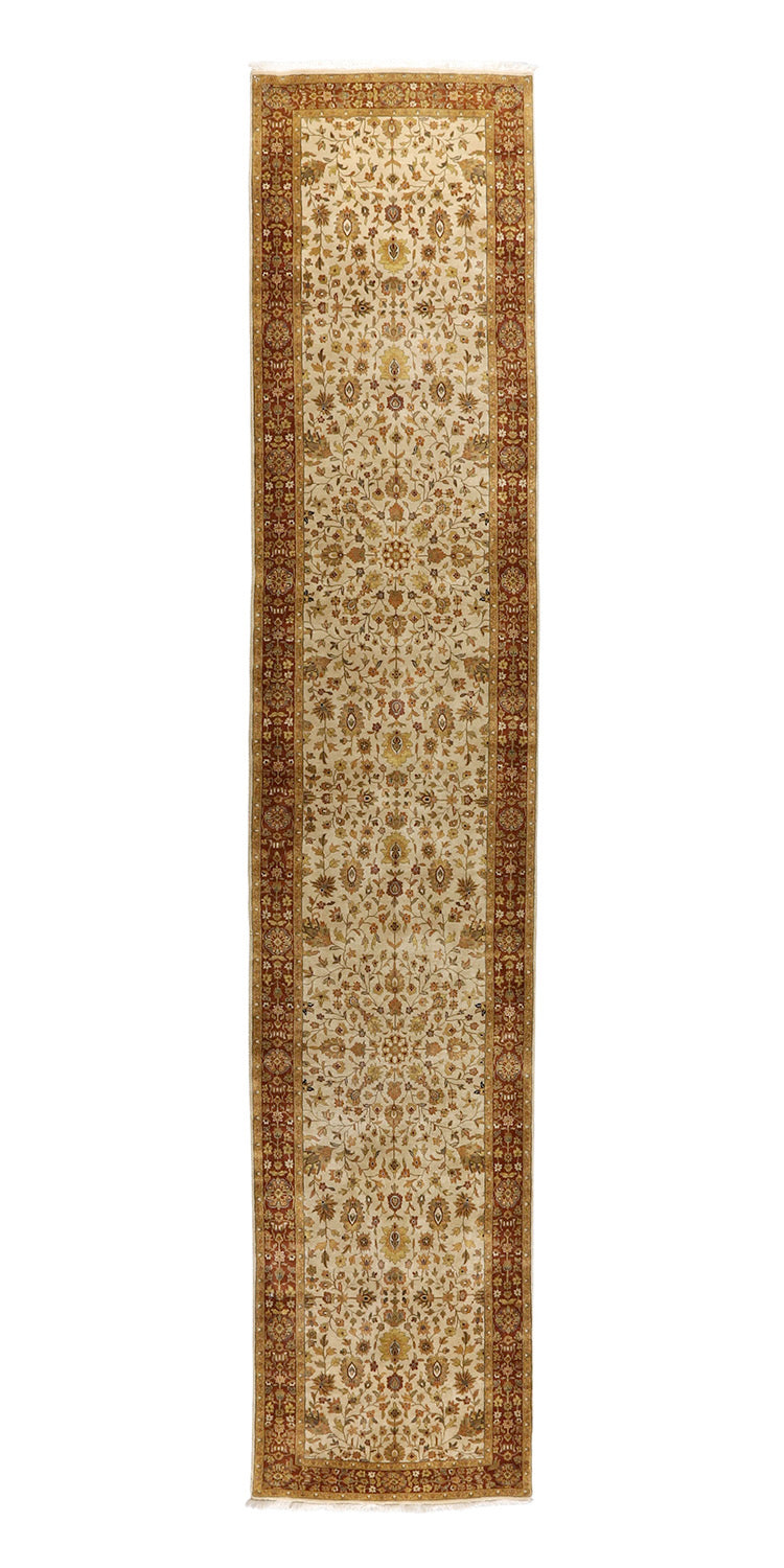 Farahan Collection Hand Knotted 3'1''x15'10''