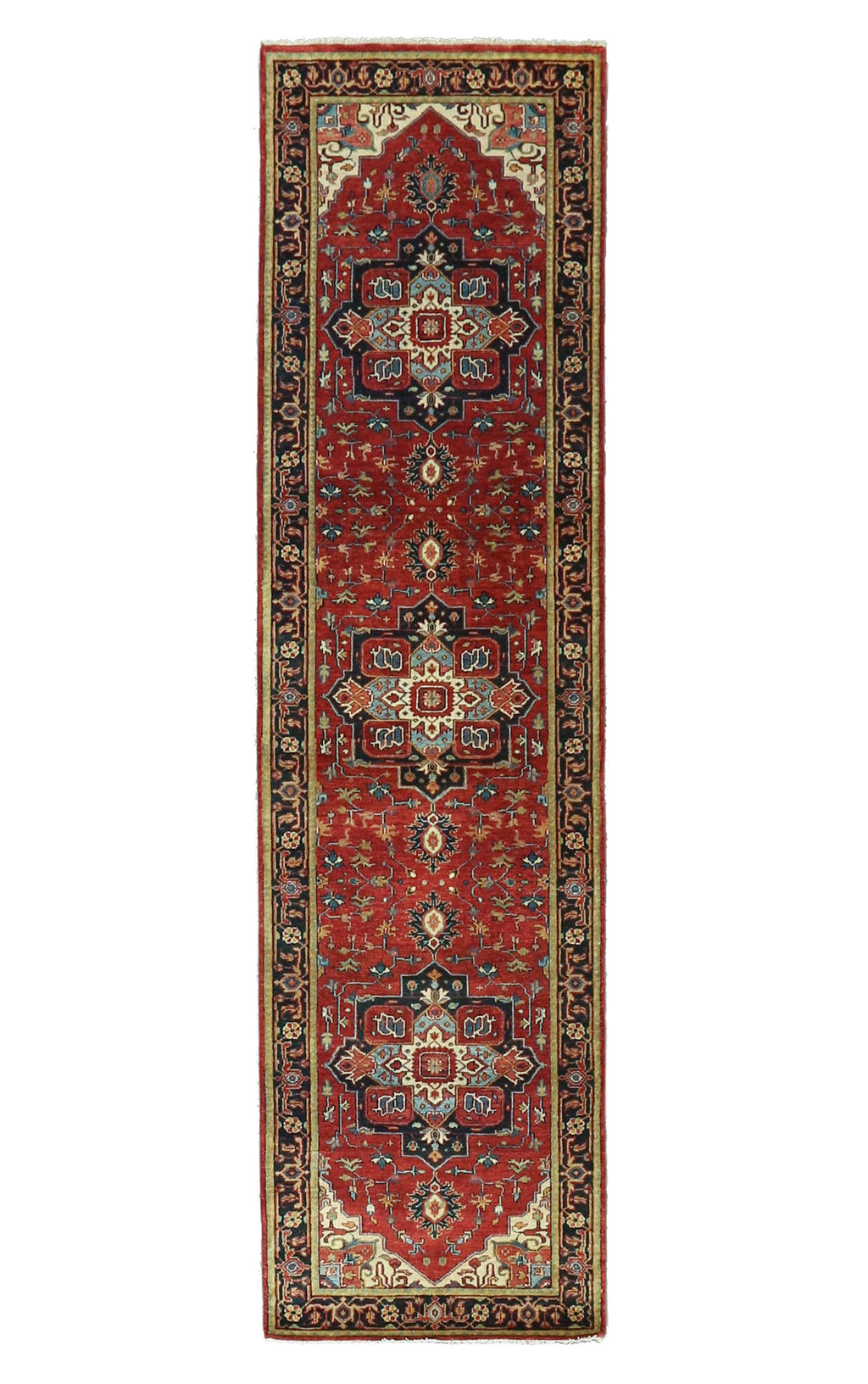 "Sera Collection Wool Rug 2'7""x10'"
