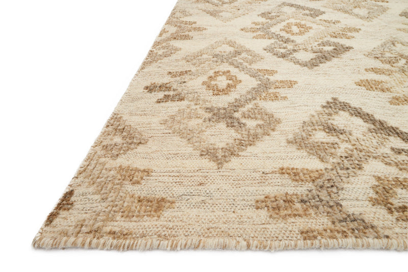 AKINA Collection Wool Rug  in  IVORY / BEIGE