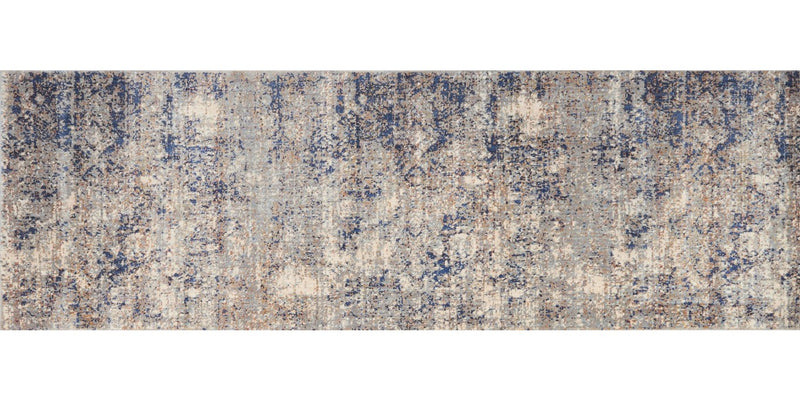 ANASTASIA Collection Rug  in  MIST / BLUE
