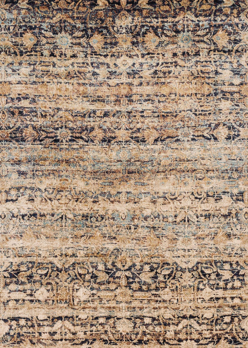 ANASTASIA Collection Rug  in  SAND / MULTI Beige Runner Power-Loomed Polypropylene/Polyester