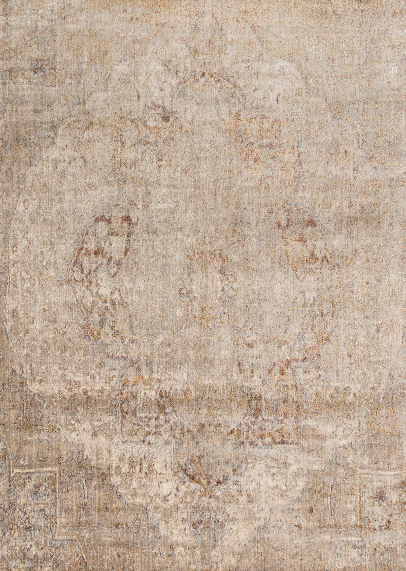 ANASTASIA Collection Rug  in  DESERT Beige Runner Power-Loomed Polypropylene/Polyester