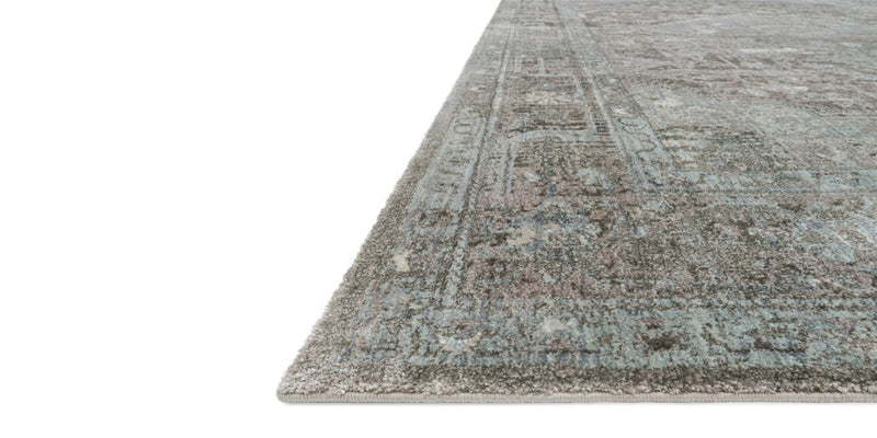 ANASTASIA Collection Rug  in  STONE / BLUE