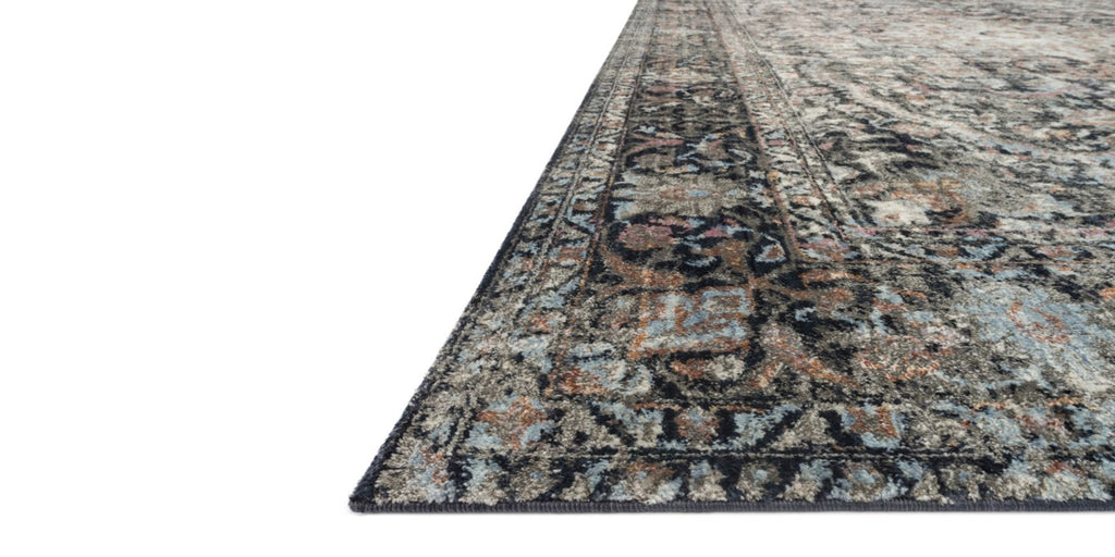 ANASTASIA Collection Rug  in  CHARCOAL / SUNSET