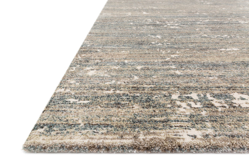 AUGUSTUS Collection Rug in FOG Beige Accent Power-Loomed Jute/Wool
