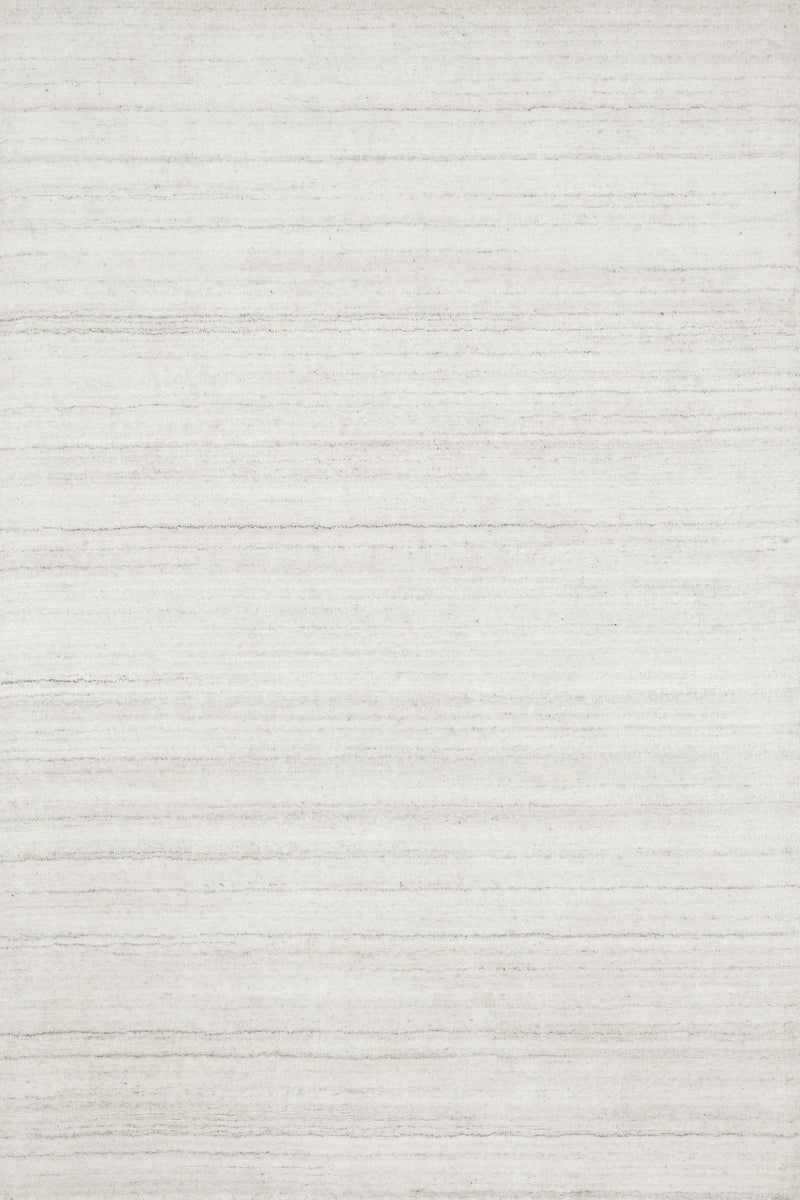 BARKLEY Collection Wool/Viscose Rug  in  IVORY Ivory Small Hand-Woven Wool/Viscose