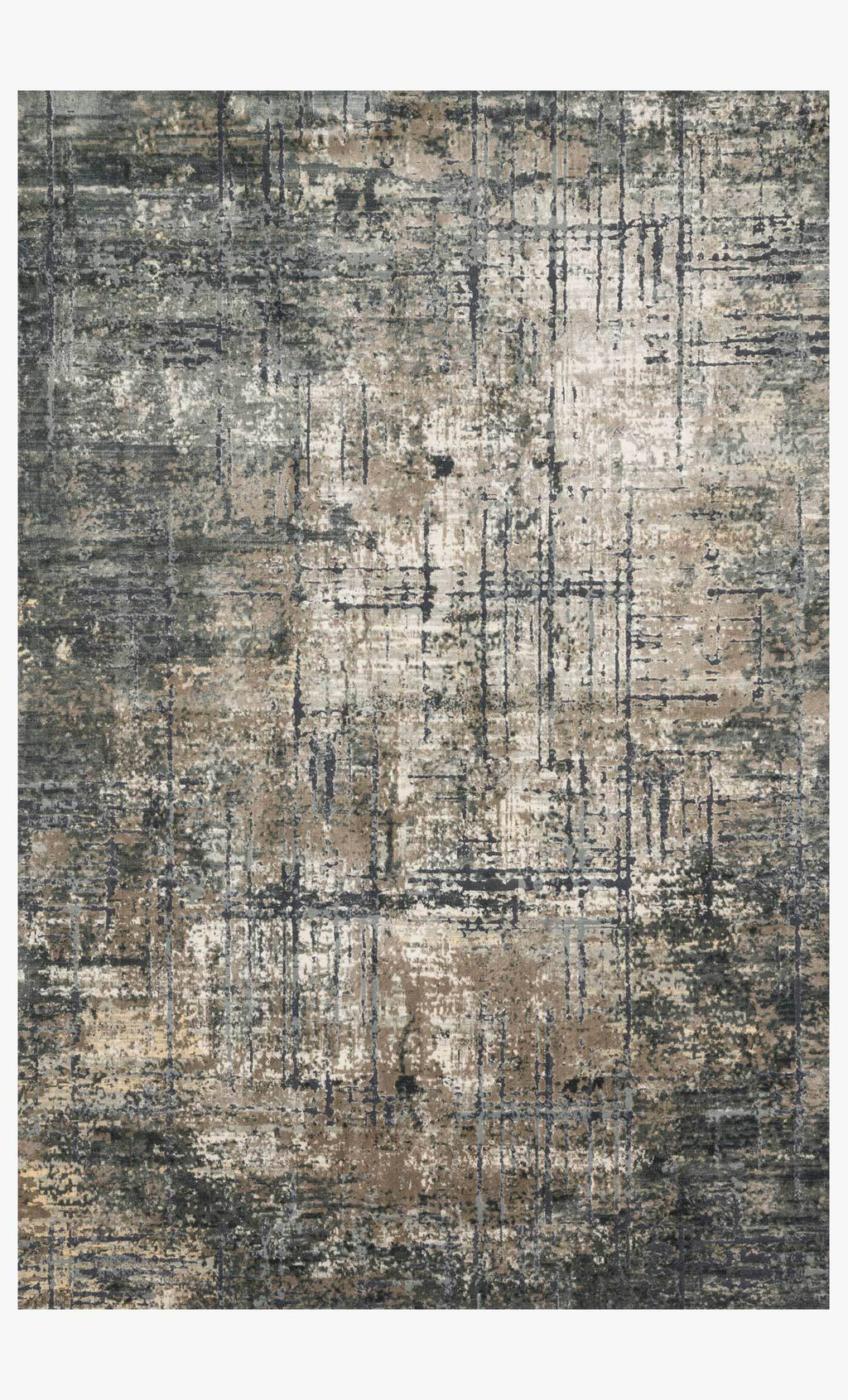 CASCADE Collection Rug  in MARINE / GREY