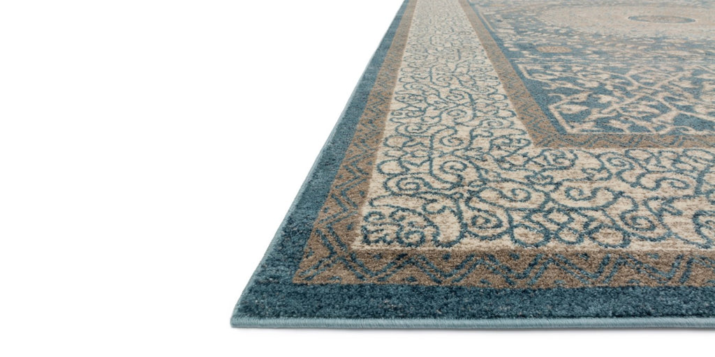 CENTURY Collection Rug  in  BLUE / SAND