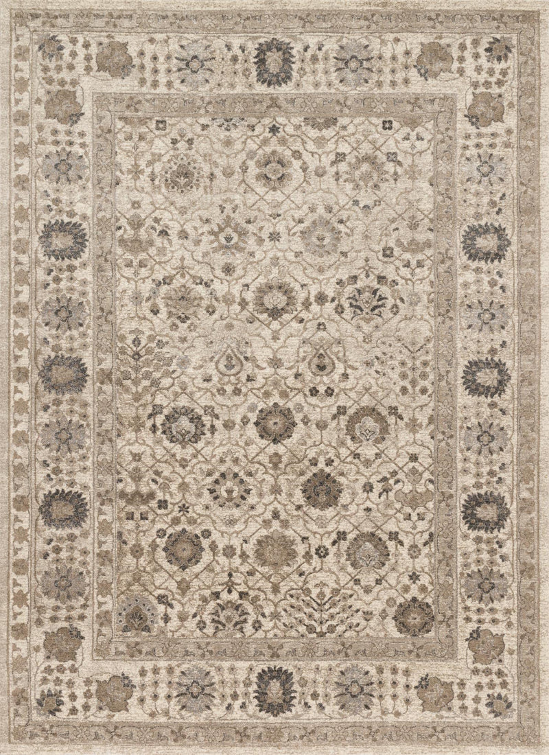CENTURY Collection Rug  in  SAND / SAND Beige Runner Power-Loomed Polypropylene