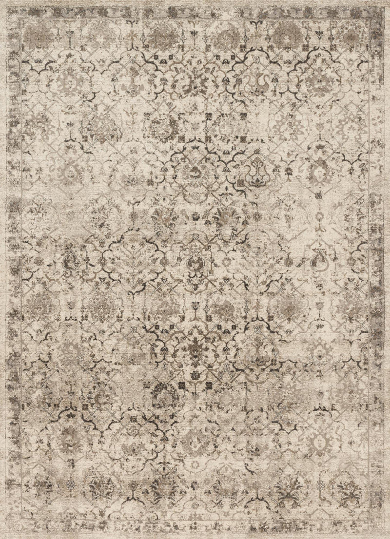 CENTURY Collection Rug  in  SAND Beige Runner Power-Loomed Polypropylene