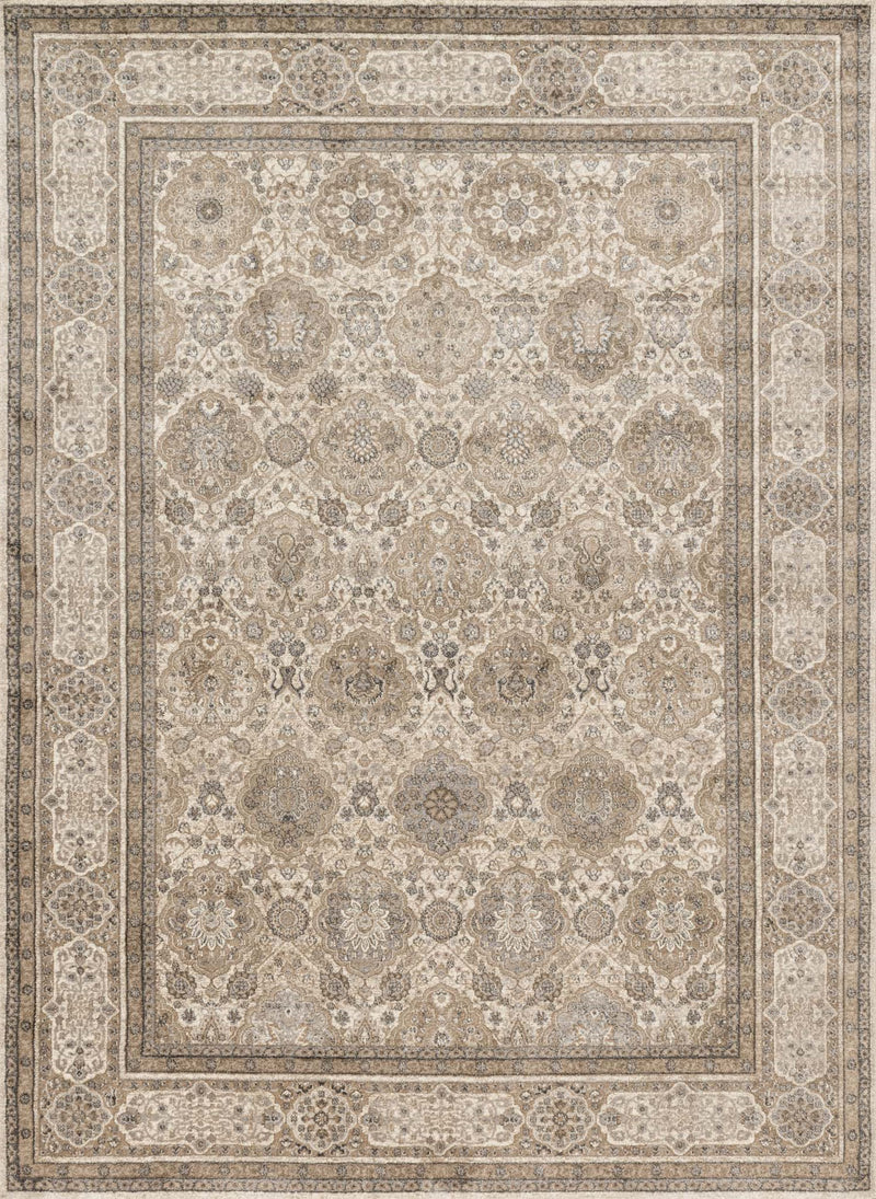 CENTURY Collection Rug  in  SAND / TAUPE Beige Runner Power-Loomed Polypropylene