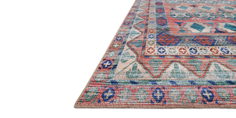 CIELO Collection Rug  in  TERRACOTTA / MULTI